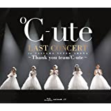 ℃-ute ラストコンサート in さいたまスーパーアリーナ ~Thank you team℃-ute~ [Blu-ray]
