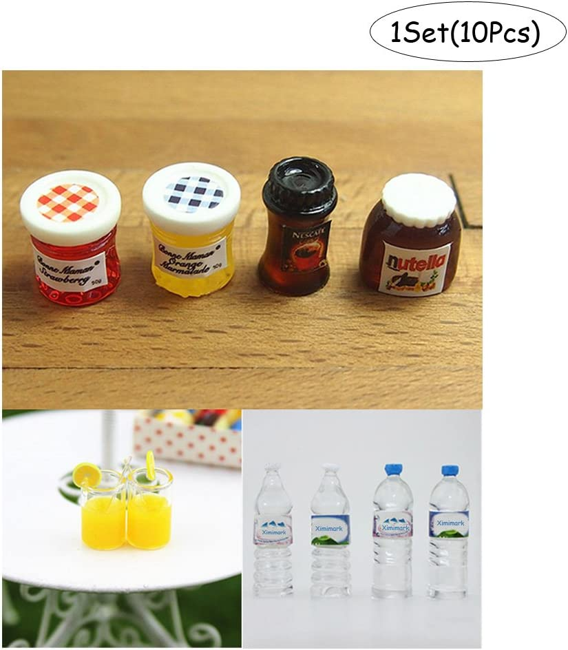 Mineral Spring Water Miniature Dollhouses Drink Supply 1//6 1//12 Model New