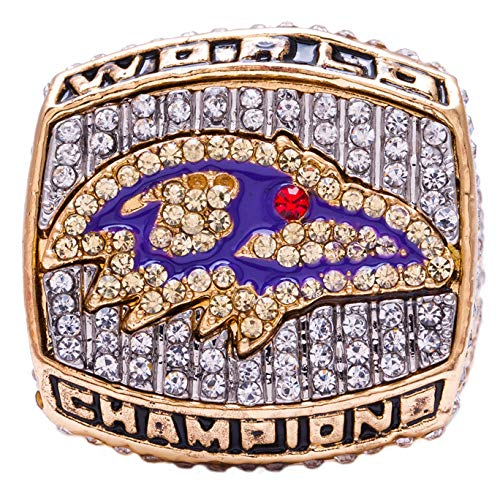 Baltimore Ravens 2000 Super Bowl - MVPRING Super Bowl Championship Ring (2000 Baltimore Ravens)