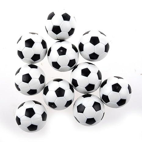 NiceButy Juego de Mesa fútbol Foosballs reemplazos Mini de ...