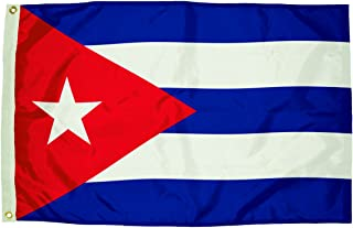 product image for Flagzone Nylon Cuba Flag Heading & Grommets