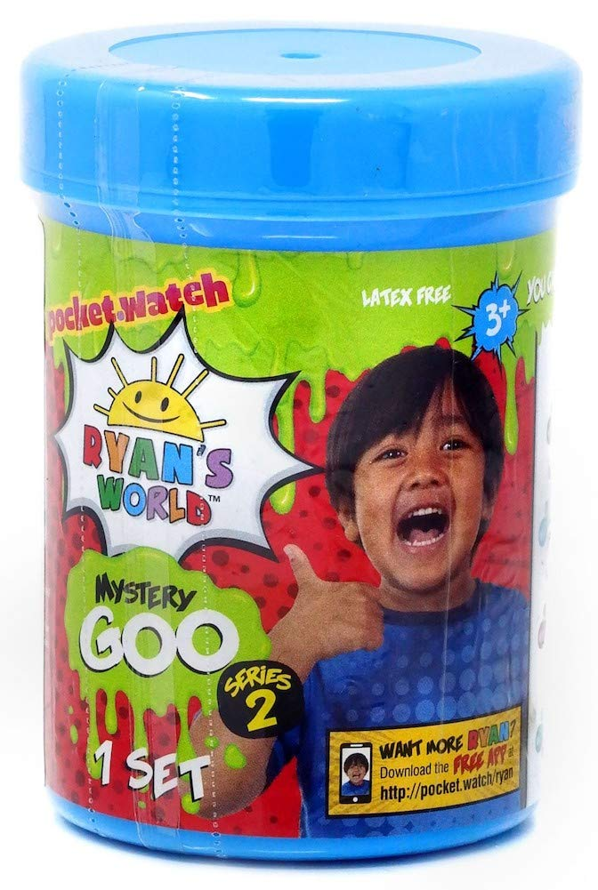 Ryans World Series 2 Mystery Figure Mystery Goo and Mystery Squishy Figure Set of 3