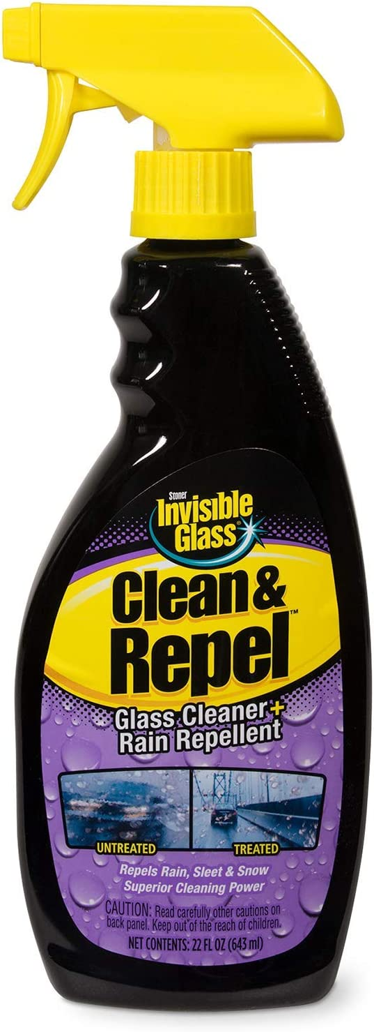 Invisible Glass 92186 Premium Glass Cleaner with Rain Repellent