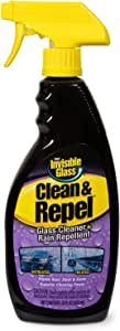 Invisible Glass 92186 Premium Glass Cleaner with Rain Repellent, 22 Ounces, Set of 1