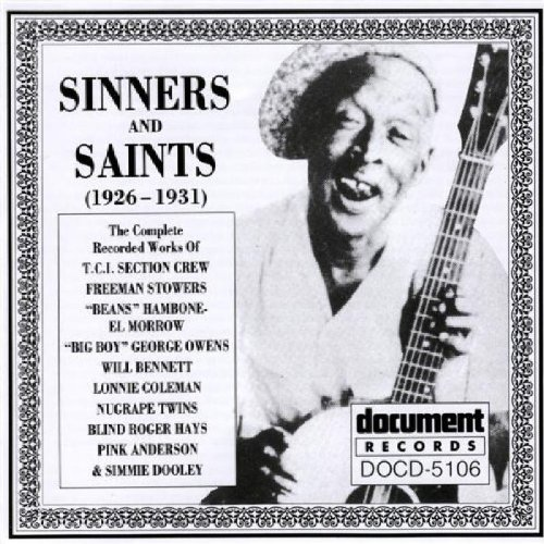 Sinners And Saints: 1926-1931 ()
