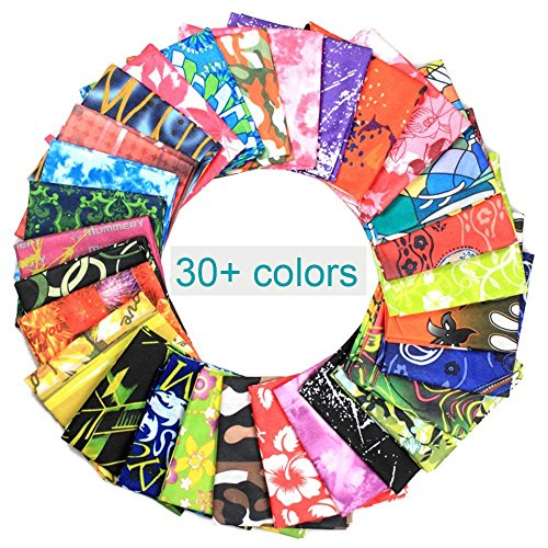 LionRiver Colorful Space Indian Kerchief Bandanas Sweatband Headwear Headscarf Elastic Turban