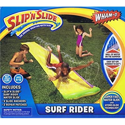 Slip \'N Slide Surf Rider Waterslide by Wham-O: Toys & Games [5Bkhe0202029]