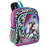 One Direction Zip That 16 inch Backpack - Multicolored