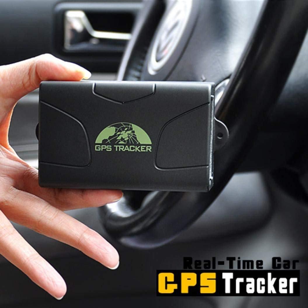 CITTATREND-Localizador GPS Tracker Mejorado Seguidor para Automóvil Coche Vehículo Ciclismo Moto Camión Anti-robo 6000 mAh TK104: Amazon.es: Electrónica