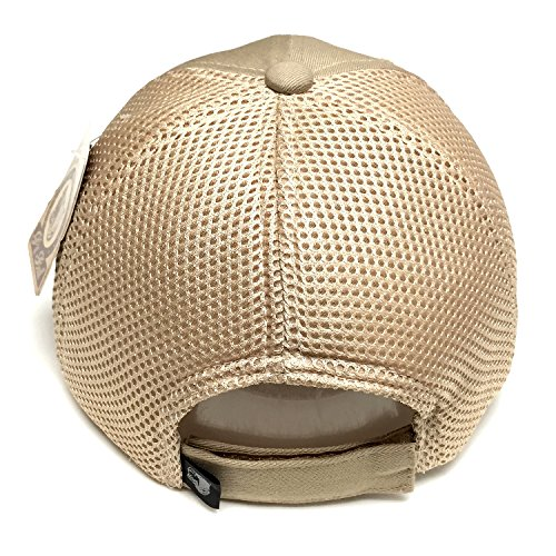 c88ab8a688f Vintage Cotton Cap USA Flag Patch Trucker Mesh Khaki Baseball Hat Dad Hat  Army Gear - Buy Online in UAE.