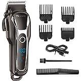 SURKER Hair Clipper Men's Electric Cordless Hair Trimmer Speed Adjustable Professional Haircut Beard Trimmer Hair…