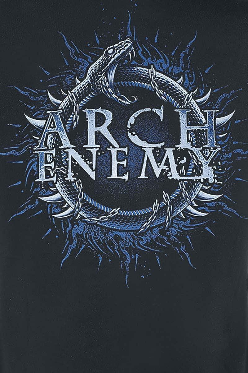 Nachhaltigkeit Bands Arch Enemy Will Snake Frauen T-Shirt schwarz Band-Merch