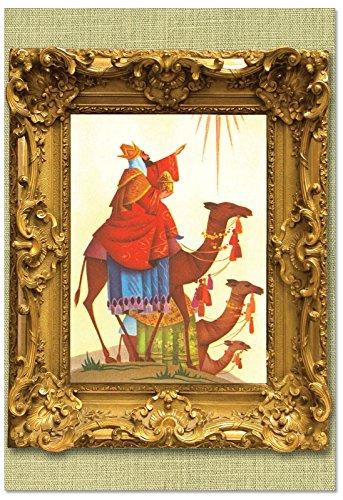 (B1745GXSG Box Set of 12 We Three Kings Christmas Greeting Cards with Envelopes)