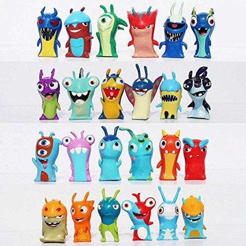 Obama Action Figure Doll - 24pcs Set Slugterra Slug Terra Elemental Mini Action Figure Doll Toy Decoration