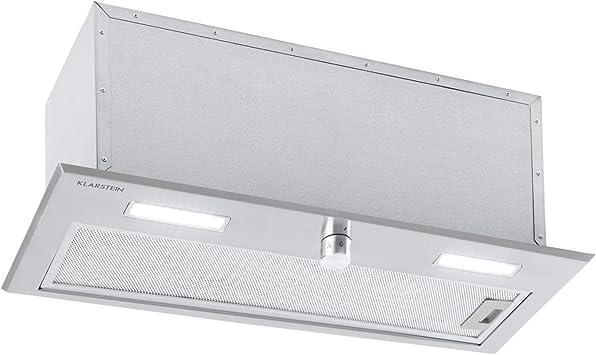 Klarstein Simplica 52, 70 - Módulo de ventilador, campana empotrada, ancho 52 cm, caudal de aire extraible 70 Cm: Amazon.es: Hogar