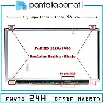 IFINGER Pantalla para TV156FHM-NH0 1920x1080 FHD 30 Pin Acho 35cm ...