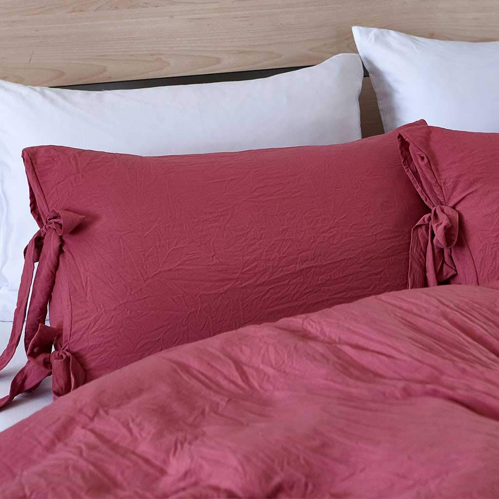 Lannomo Duvet Cover Set with Strap Closer-Ultra Soft 100% Washed Cotton Microfiber 3 Piece Set with 2 Pillow Shams Insert Comforter Protector-King(104\
