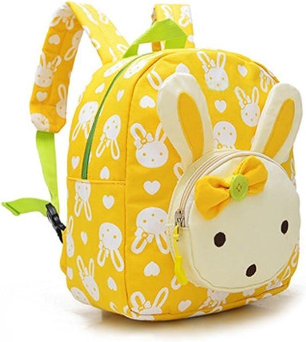 Sac /à Dos Enfant Maternelle Cartable Cr/èche Cartoon Backpack Motif Lapin Mignon Jouet B/éb/é Sac d/'Ecole Primaire Sac Loisirs// Voyage// Camping Pour 1-3 Ans