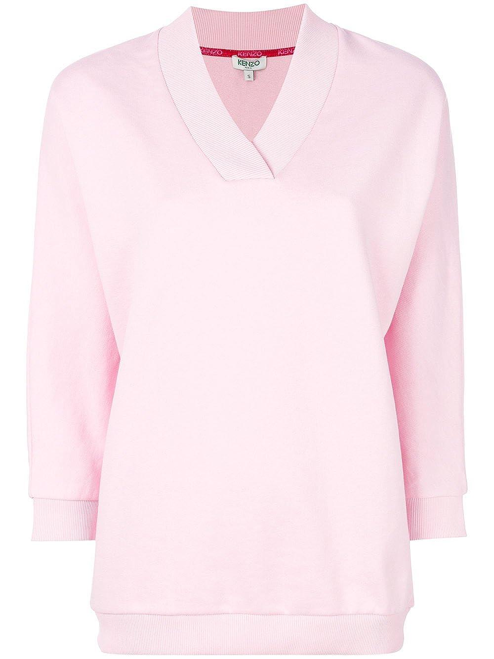 Kenzo -Chaqueta deportiva Mujer Rosa Marke Talla M: Amazon ...