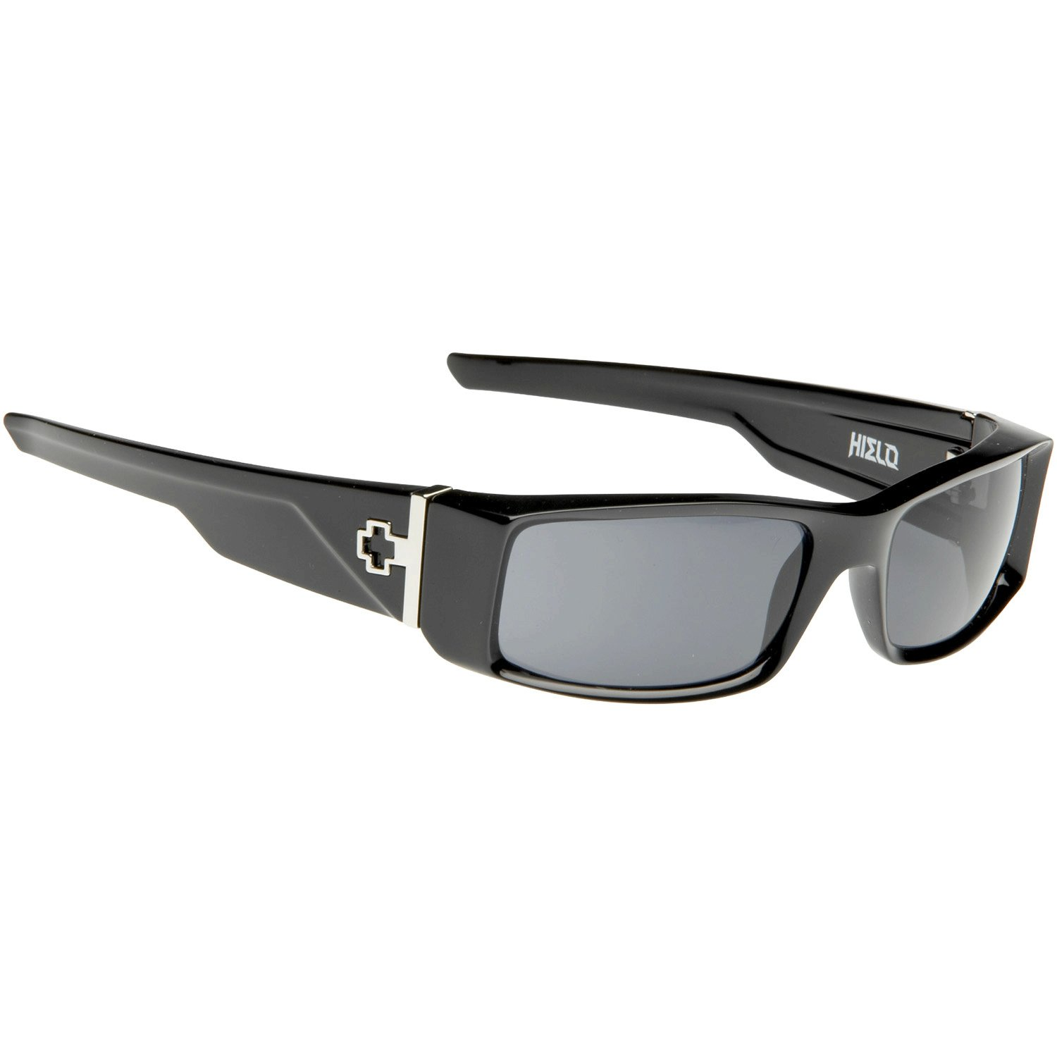 58e4cbd283 Amazon.com  Spy Optic - Spy Sunglasses - Hielo Black Polarized - Black -  One Size  Clothing
