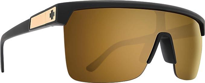 Spy Flynn 5050 - Gafas de sol, (negro, dorado (Matte black ...