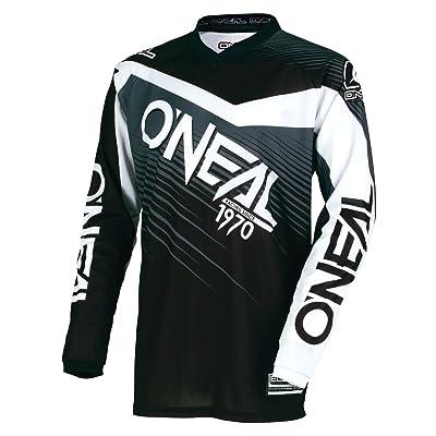 0008-107 - Oneal Element 2018 Racewear Motocross Jersey 3XL Black Gray