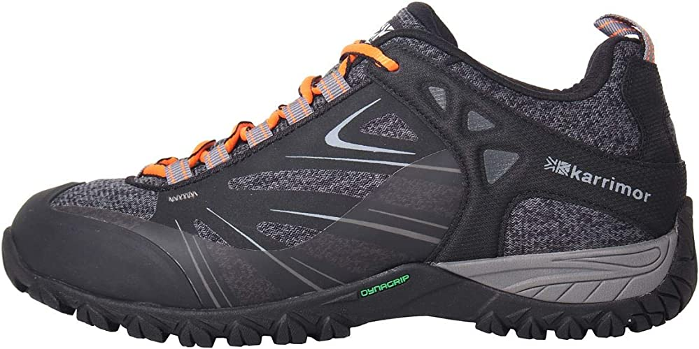 Karrimor Womens Ridge WTX Walking Shoes Waterproof Lace Up Breathable