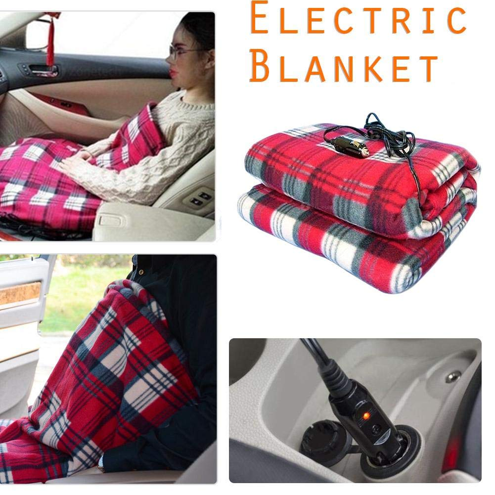 COREYCHEN 車用電気毛布 電気毛布 電気毛布 電気毛布 車 電気毛布 一定温度アンチオーバーヒート毛布   B07L6DMGK6