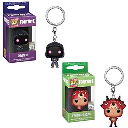 Amazon.com: Funko Pocket POP! Games Fortnite: Raven and ...