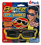 Spy Sunglasses Shades & See Behind by JA-RU | Spy Kid Tools for Kids Pack of 6 | Item #1498
