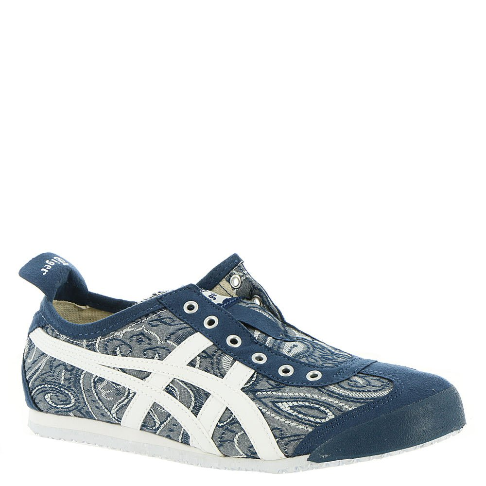 Onitsuka Tiger Mexico 66 Slip-On Classic Running Sneaker B07354GM45 8 B(M) US|Dark Blue-white