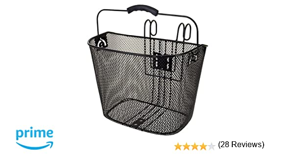 M-Wave Baf Hang - Cesta de alambre, color negro: Amazon.es: Deportes y aire libre