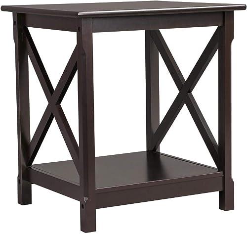 Yaheetech Modern Bedside Table Nightstands