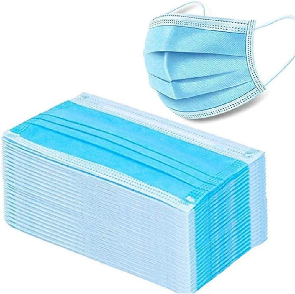 Daapplok Filtro desechable 3 capas Cirugía dental hipoalergénica Transpirabilidad Confort Transpirable, para uso en hospitales, escuelas y salud pública en 20 piezas