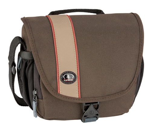 Tamrac 3440 Rally Micro Camera Bag - Brown/Tan (Brown Strap Tamrac)