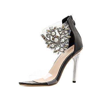 Chaussures Pearl Talons HautsSummer Sexy Women's Perle À yIYb7v6mgf