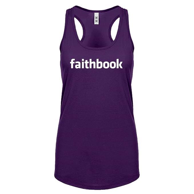 Indica Plateau Faithbook Fe Cristiana para mujer Racerback Tank Top: Amazon.es: Ropa y accesorios