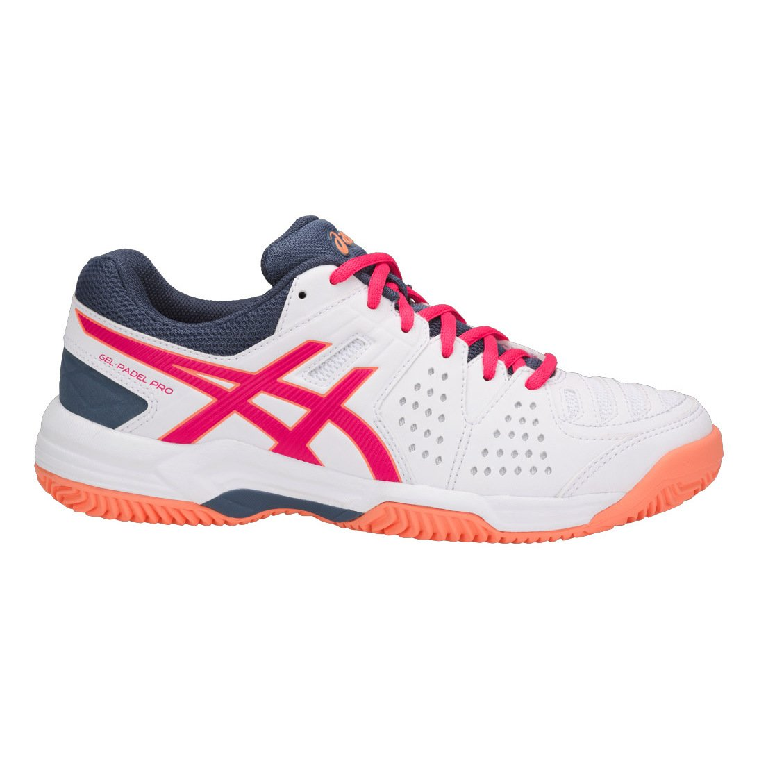 ZAPATILLA ASICS E561Y-0121 GEL-PADEL BLANCO (42 EU): Amazon.es ...