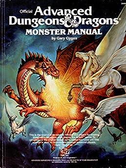 advanced dungeons dragons monster manual 4th edition gary gygax rh amazon com monster manual 1983 pdf monster manual 1st pdf