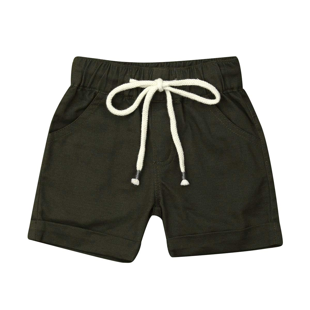 Douhoow Toddler Kids Baby Boys Shorts Summer Short Pants Bottom with Pocket
