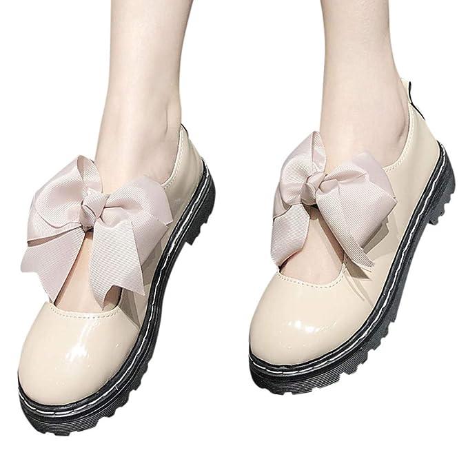 Amazon.com: Sanyyanlsy Mary Jane - Zapatos de tacón cuadrado ...