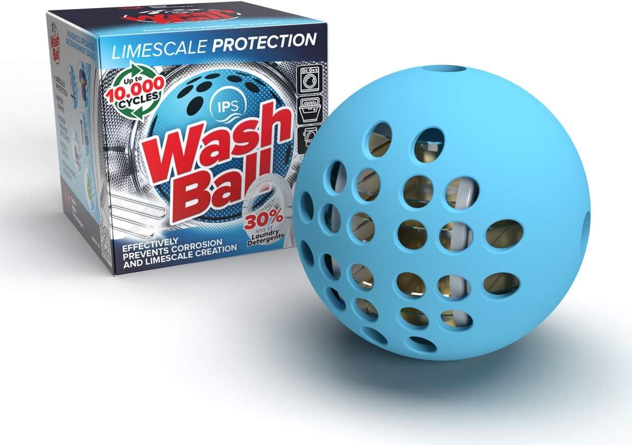 Swiss Aqua Technologies IPS - Bola de lavado de menor dureza del agua - Ecológica / Respetuosa con el medio ambiente bola de lavado ideal para lavadora, lavavajillas, depósito de inodoro