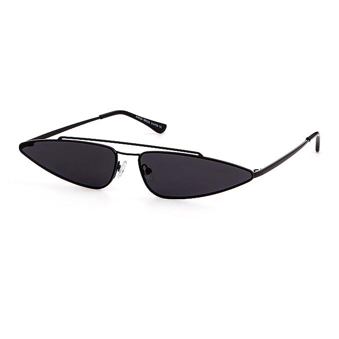 Amazon.com: Gafas de sol vintage con diseño de ojo de gato ...