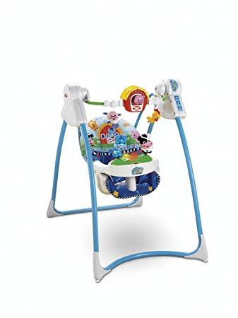 a18ef861c1c8 Amazon.com   Fisher-Price Lil  Laugh   Learn Swing   Stationary Baby ...