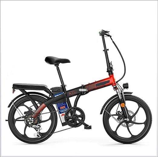 LKLKLK - Bicicleta eléctrica Plegable (250 W, 48 V, 12 Ah, 7 ...