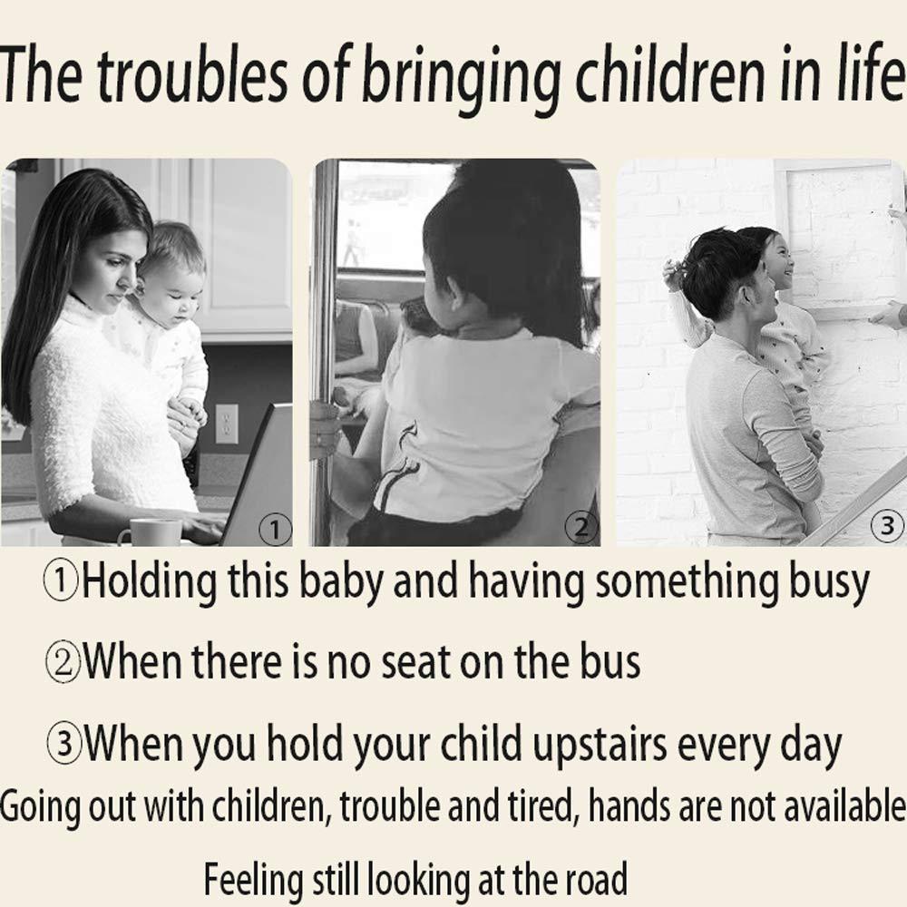 MC-BLL-Baby Strap Asiento Infantil Taburete Taburete Taburete Taburete Correa de Cintura Abrazo del bebé Antes de abrazar al bebé con un Abrazo Multifuncional artefacto Individual Sujetar a los niños Taburete d43179
