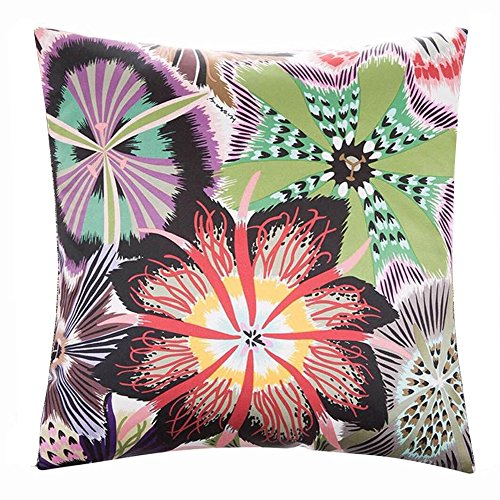Birdfly Blooming Floral Throw Pillow Cases Shams Double Print