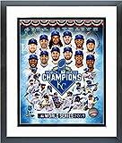 "Kansas City Royals 2015 World Series Champions Team Composite Photo (Size: 12.5"" x 15.5"") Framed"