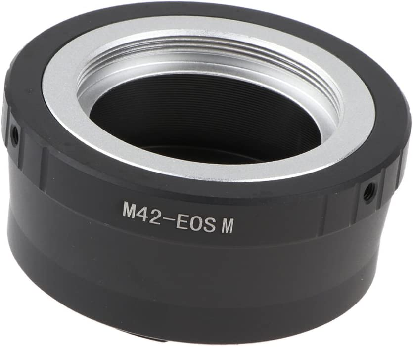 Metal Adapter Ring for M42 Lens to Canon EOS M EOS M M2 M3 M10 EF-M Camera