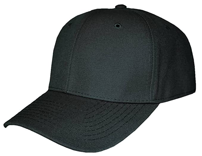 Blank Fitted Curved Cap Hat 630f8c5c51f